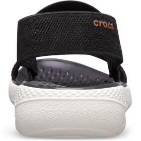 Crocs LiteRide - Sandales Femme - noir